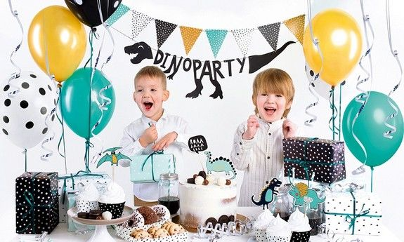 Dekoracje urodzinowe dla chłopca DinoParty