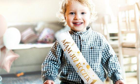 Gadżety na Roczek i urodziny dziecka