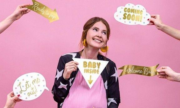 Gadżety na Baby Shower