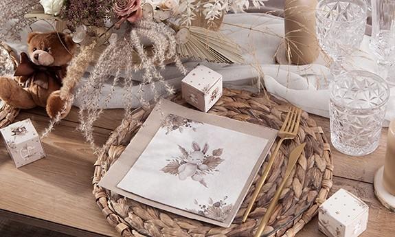 Złote Baby Shower Złoty Wózeczek