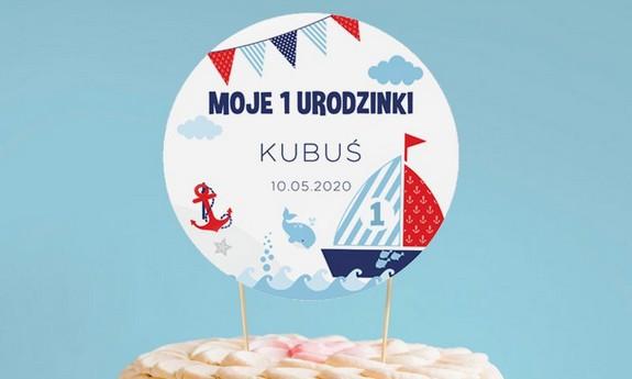 Toppery na tort Roczek