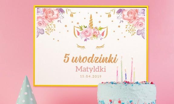 Plakaty na urodziny