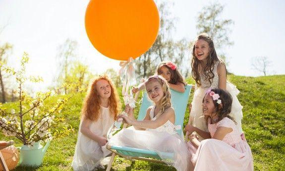 Balony urodzinowe - z konfetti