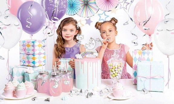 Dekoracje urodzinowe - zestawy