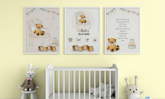 Plakaty dla dziecka do pokoju