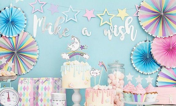 Rozety dekoracyjne i urodzinowe na roczek