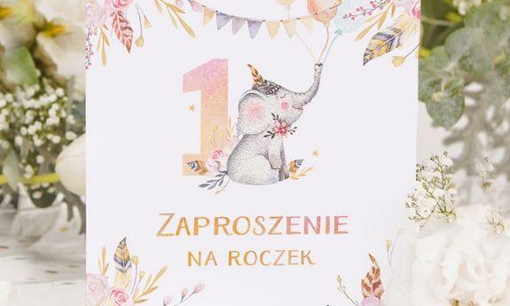Zaproszenia na Roczek