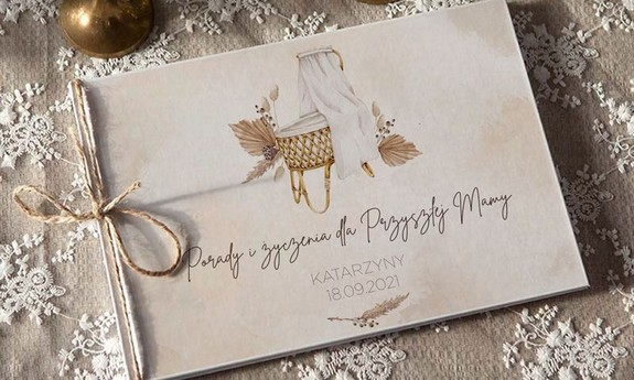 Księgi na Baby Shower