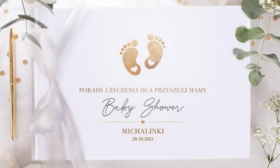 Złote Stópki Baby Shower