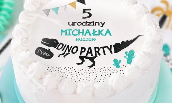Dekoracje tortu na urodziny