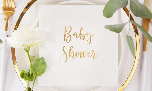Serwetki na Baby Shower