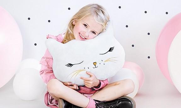 Maskotki i poduszki na urodziny