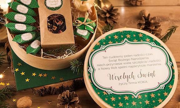 Prezenty świąteczne zestawy prezentowe