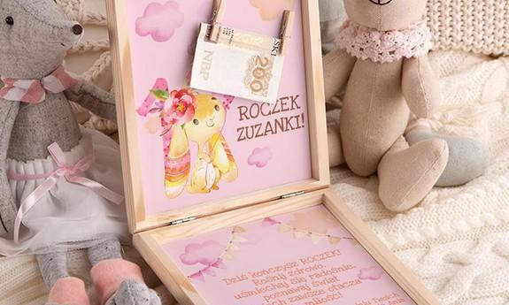 Życzenia i kartki na Roczek w pudełkach
