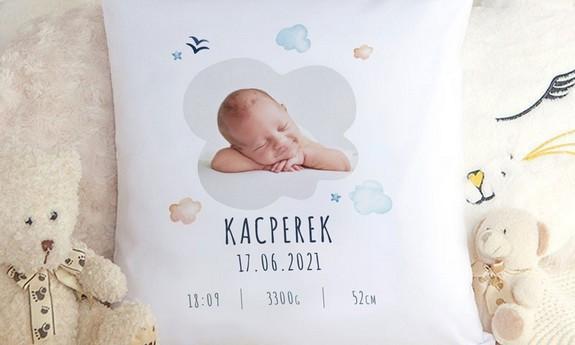 Poduszki dla dziecka na narodziny