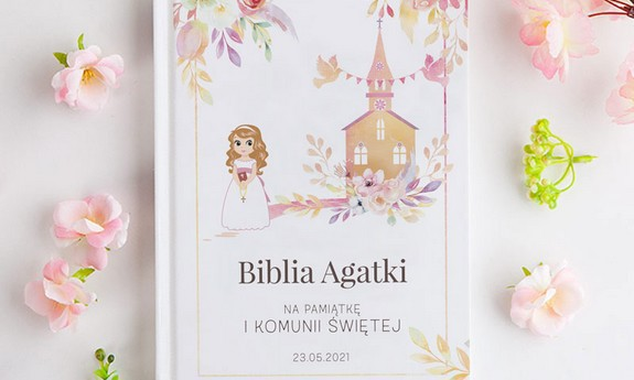 Biblie na Komunię