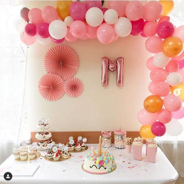 Balony i rozety na roczek