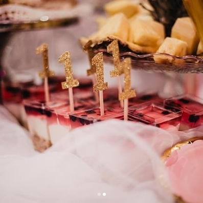 Topperki na muffiny na roczek