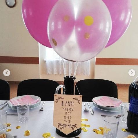Kolorowe balony na urodziny dziecka