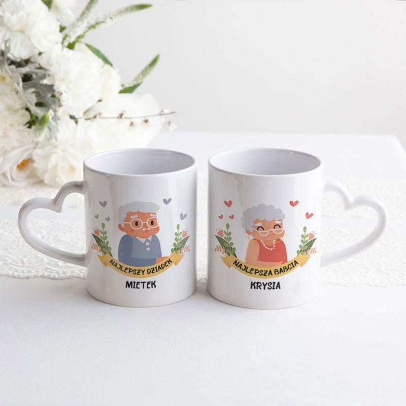 Kubeczki ceramiczne dla Dziadków