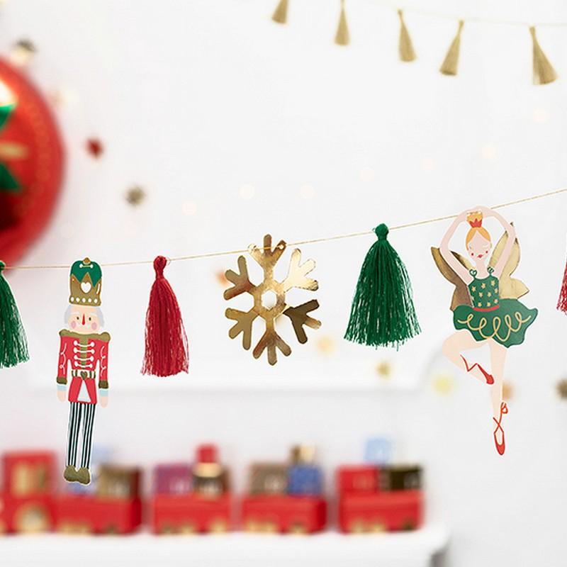 Girlanda świąteczna Dziadek do orzechów
