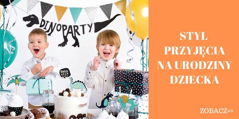 Dekoracje na urodziny dziecka styl przyjęcia